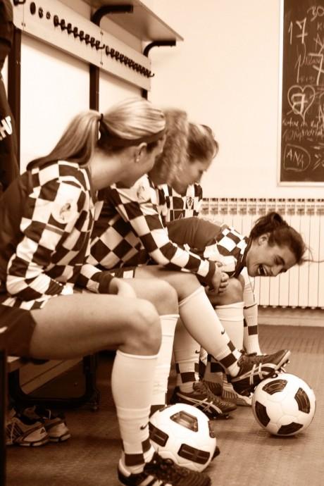 zenska hrvatska nogometna reprezentacija, vrbovec 20112011 photo boris stajduhar