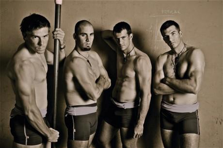 svj. prvaci u veslanju, david sain, martin sinkovic,damir martin i valent sinkovic, zagreb 14112010 photo boris stajduhar